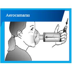 Aerocamaras para el asma